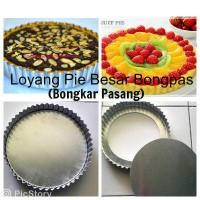 Loyang/ Cetakan Pie Buah Susu Lontar Pizza D16 BONGPAS