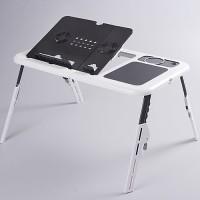 MEJA LIPAT LAPTOP PORTABLE KIPAS KOMPUTER TABLET PC BELAJAR ANAK MURAH
