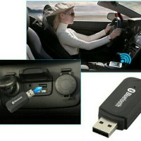 USB Dongle Portable Bluetooth Receiver Car Audio + FREE Aux 3,5 mm K15