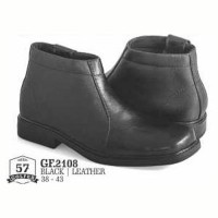 sepatu kulit pria boots formal kantor kerja pesta elegan terbaru glfer