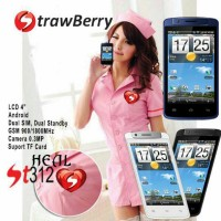Handphone Strawberry ST-312 / ST312 HEAL Android 2G