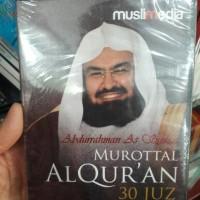 CD MUROTTAL AL QURAN 30 JUZ ABDURRAHMAN AS SUDAIS (2CD)