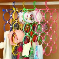 Gantungan Jilbab syal Scarf Dasi tali pinggang hanger holder Organizer