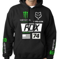 kaos/hoodie/jacket/jumper/sweater/custom/fox racing/monster energy