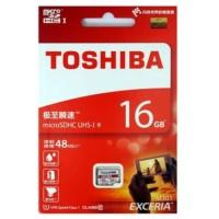 Micro SDHC TOSHIBA EXCERIA 16GB 48mb / S UHS-1 Original