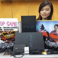 HARGA MENJELANG LIBURAN~ Playstation PS2 Sony Fat Hdd 80GB KOMPLIT GAN