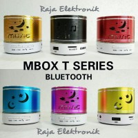 MUSIK BOX MBOX BLUETOOTH, MP3 PLAYER, SPEAKER MULTIMEDIA, T SERIES