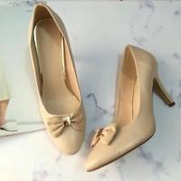 Sepatu Wanita Original Vincci Murah Warna Beigei