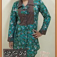Blouse Batik Wanita/ Atasan Wanita/ Baju Kemeja Wanita Batik Kerja 03