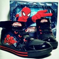 Jual sepatu anak SPIDERMAN Murah