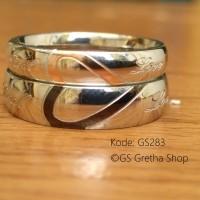 Cincin Pasangan Titanium Kode GS283