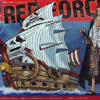 One Piece Grand Ship Collection Shanks Red Force BANDAI