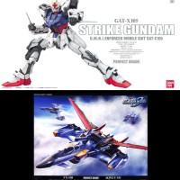 PG 1/60 Perfect Grade Strike Gundam & PG Skygrasper + Aile Strike