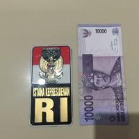 Stiker Sticker Istana Presiden RI Persegi untuk Mobil Motor