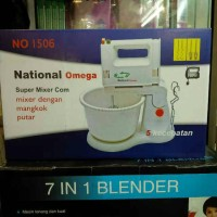 harga National Omega Stand Mixer No 1506 / Blender Mixer 7 in 1 Tokopedia.com
