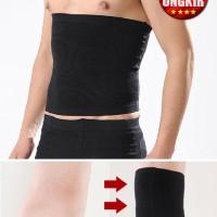 korset pria pelangsing perut buncit Men's Inner Muscle Belt man