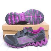 Diskon Sepatu Running Original Reebok Sport Fury Gravel Velcro Black