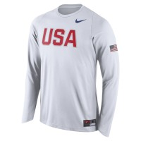 Sweater USA BASKETBALL TEAM 2016 NIKE - White