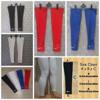 Leg Sleeve Tanpa Pad Pelindung (polos) NIKE / MCDAVID