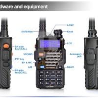 Handy Talkie Handi Talki Handy Talky UV5RE UV-5RE FM Radio Komunikasi