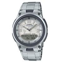 AW80D-7A2 jam tangan pria CASIO original strap stainless steel band