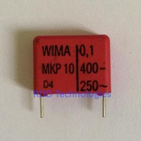 WIMA Film Capacitor 100nF/400V MKP10 Series