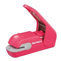 Staples Kokuyo Harinacs Press Stapler SLN-MPH105 - Pink