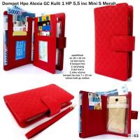 dompet hpo alexia gc kulit 1 hp 5,5 inc mini s merah