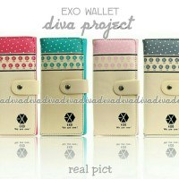 harga Dompet Wanita 4 Warna EXO Beautiful Sweet Suplier Tas Serba Murah Tokopedia.com