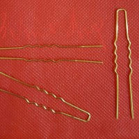 hair pin kaki polos