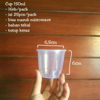 MOIAA Cup Pudding 150ml / Cup Slime / Cup Puding / Cup Plastik