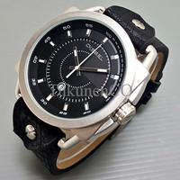 Jam Tangan Pria / Cowok Diesel Axial Leather