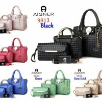 Bag tas Aigner Marlene Emboss 9813 FASHION BRANDED IMPORT