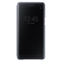 Samsung Clear View Cover Case Original Galaxy Note FE-Fan Edition-BLCK