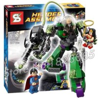 lego kw power armor lex luthor sy 330