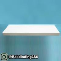 1 Rak Dinding, Minimalis, Gantung, Melayang, Kayu Uk. 80 x 20 x 3 cm