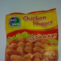 So Nice So Good Chicken Nugget/ Naget Ayam 250gr