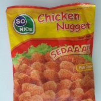 So Nice So Good Chicken Nugget/ Naget Ayam 500gr