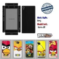 Garskin hp Sony  Xperia Z2 harga murah bisa pakai foto sendiri