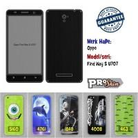 Garskin hp Oppo Find Way S U707 branded murah bisa pakai foto sendiri
