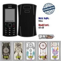 Garskin hp Nokia X2-02 harga reseller bisa pakai foto sendiri
