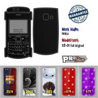 Garskin hp Nokia X2-01 full keypad harga murah bisa pakai foto sendiri