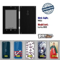 Garskin hp Nokia Lumia 800 harga grosir motif kustom