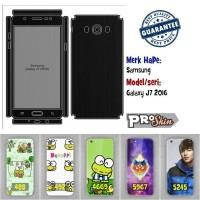 Garskin hp Samsung Galaxy J7 2016 harga murah bisa pakai foto sendiri