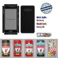 Garskin hp Samsung Galaxy A3 branded murah motif kustom