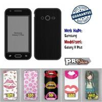 Garskin hp Samsung Galaxy V Plus branded murah bisa pakai foto sendiri