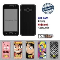 Garskin hp Samsung  Galaxy J1 Ace branded murah bisa pakai foto sendir