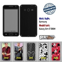 Garskin hp Samsung Galaxy Core 2 355H branded murah motif kustom