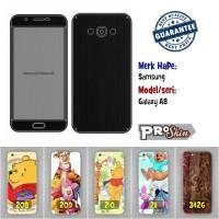 Garskin hp Samsung Galaxy A8 harga murah bisa pakai foto sendiri