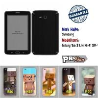 Garskin hp Samsung Galaxy Tab 3 Lite Wi-Fi SM-T110 branded murah motif